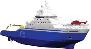 Aiviq, nuevo rompehielos AHTS para Shell