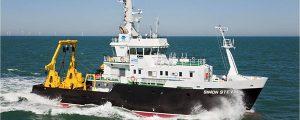 Entrega del buque de investigación Simon Stevin