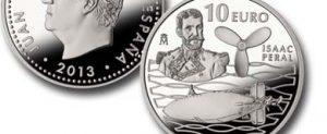 Presentación de la moneda conmemorativa del 125 aniversario de la botadura del submarino Isaac Peral