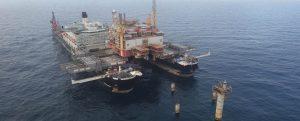 Pioneering Spirit: El gran buque para desinstalación de plataformas