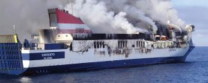Incendio en el ferry Sorrento
