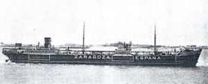 Reconstrucción del petrolero Zaragoza