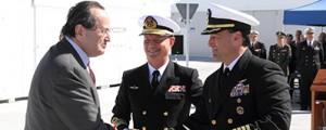 La Base Naval de Rota inaugura nueva zona de apoyo para la Armada