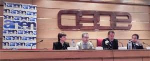 Rueda de prensa organizada por ANEN en la Sede de la CEOE