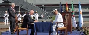 Navantia entrega el segundo buque a Argelia