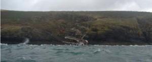 Se hunde el Astrid en la costa de Irlanda