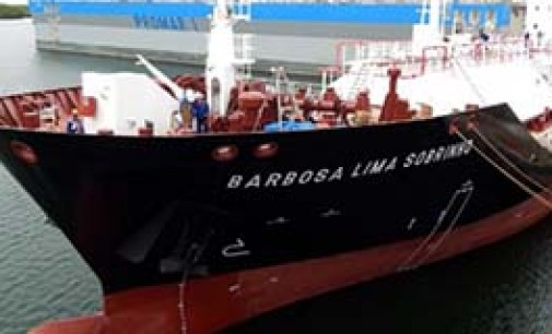 Entrega del LPG Barbosa Lima Sobrinho