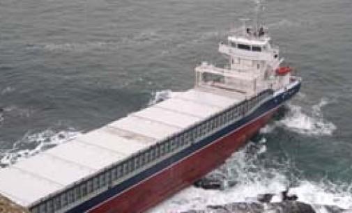 El buque Beaumont varó en las proximidades de Avilés
