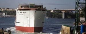 Gondán bota el oceanográfico C460