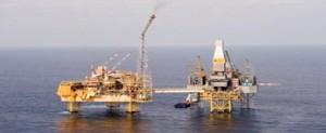 Fuga de gas en la plataforma Elgin del Mar del Norte