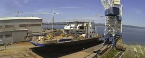 Botadura del ferry Armand-Imbeau II