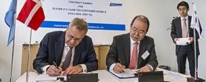 Maersk encarga la construcción de 11 portacontenedores Triple-E