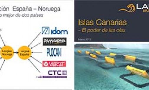 Langlee Wave Power y el ITC firman un acuerdo para el desarrollo de energía undimotriz en las Islas Canarias