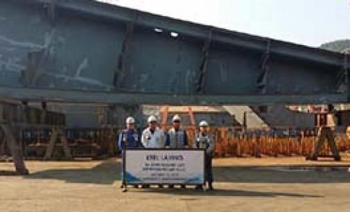 Puesta de quilla simultánea de los seis LNG para Teekay