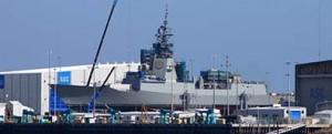 El HMAS Hobart está en fase de armamento
