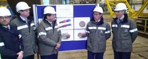 Navantia inicia la fabricación de las estructuras flotantes para el parque eólico Hywind