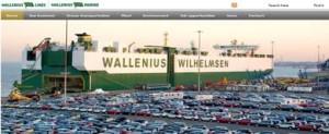 El astillero chino Xingang construirá dos car-carriers post panamax para Wallenius Lines