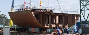 Gondán inicia la construcción en grada del buque oceanográfico para el IMR
