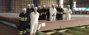 Puerto Real pone las quillas de los petroleros suezmax