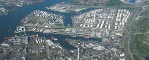 Tráfico de graneles líquidos 2013 en puertos europeos