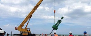 Balizamiento marítimo en Puerto Brisa