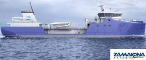 Zamakona Yards construirá un well-boat para Sølvtrans