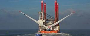 Navantia Puerto Real se estrena en el sector de las eólicas