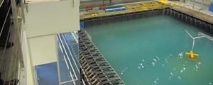 Primer ensayo de la plataforma flotante Nautilus