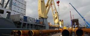 Iniciados los ensayos de los pilotes del parque eólico offshore de Wikinger