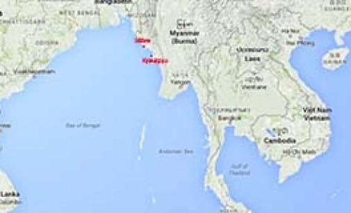 Naufragio de ferry Aungtagun 3