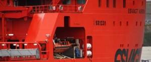 Esvagt Aurora: buque más destacado de 2012