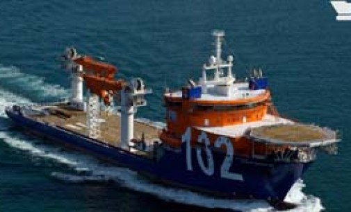 El buque offshore North Ocean 105 realizará esta semana sus pruebas de mar