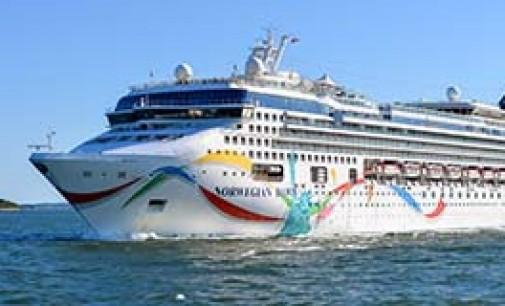 El Norwegian Dawn encalló en los arrecifes de Bermudas