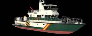 Astilleros Gondán construirá dos patrulleras para la Guardia Civil
