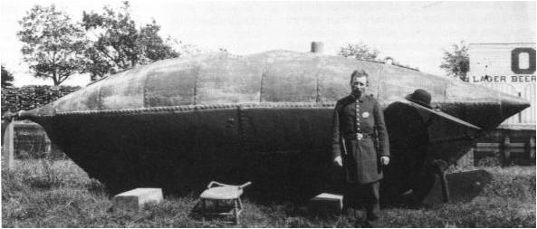 Resultado de imagen de el primer submarino