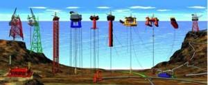 Las plataformas petrolíferas que operan a mayores profundidades