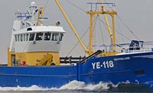 Innovador barco para la captura de navajas