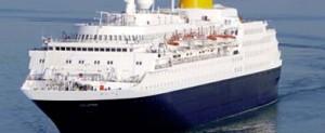 El buque de crucero Saga Sapphire sufre una avería en su viaje inaugural