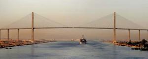 Próxima apertura de la nueva vía del Canal de Suez
