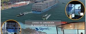 El Centro de Simulación de Siport21 estrena puente de gobierno