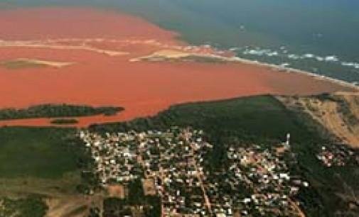Catástrofe en las aguas territoriales de Brasil