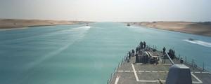 Ampliación del Canal de Suez en marcha