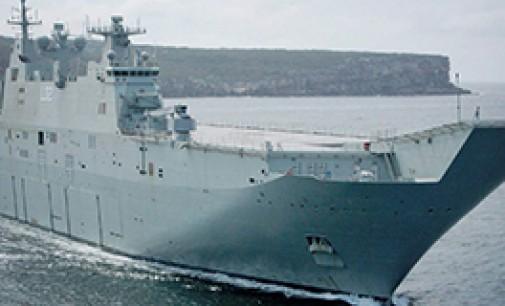 Aumenta el programa de destructores para Australia
