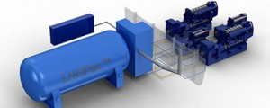 Tecnología Wärtsilä para la propulsión mediante LNG