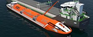 Buque LNG fluvial operará en el noroeste de Europa