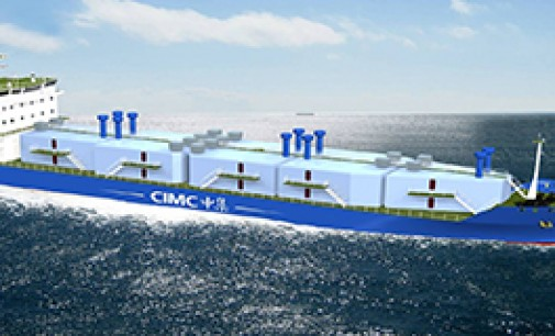 El primer buque GNC será propulsado por Wärtsilä