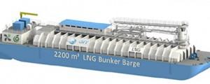 Primera barcaza de suministro de LNG en Norteamérica