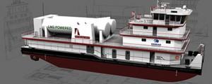 Uso de LNG en remolcadores