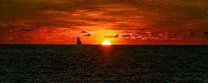 El Día de la Tierra,vista desde el océano