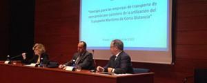 Jornada de la Asociación Española de Promoción del Transporte Marítimo de Corta Distancia (SPC-Spain)